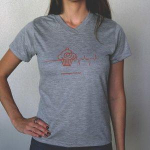 Camiseta CUPCAKE feminina