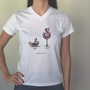 Camiseta AM PM feminina