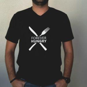 Camiseta FOREVER HUNGRY masculina