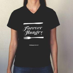 Camiseta FOREVER HUNGRY feminina