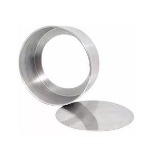 Forma redonda com fundo removível 23cm