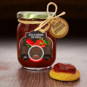Geléia de Morango com pimenta – 200g